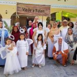 Members of Alianza, an Alliance church plant in Punta Cana, the Dominican Republic, dress as characters of the nativity for a community Christmas bazaar.(Photo courtesy of Julie Stutler)