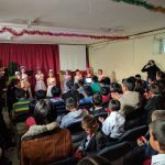 More than 70 children and youth gather at Grain of Wheat Center in Mongolia to celebrate Jesus' birth.